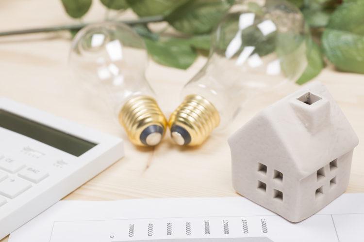 住宅と電気