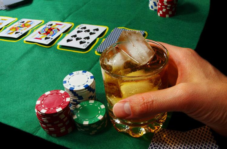 カジノ 飲み物