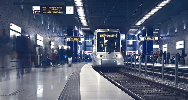 駅のターミナル
