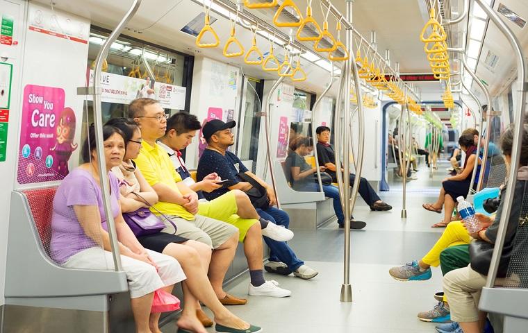 シンガポール「MRT」の乗り方